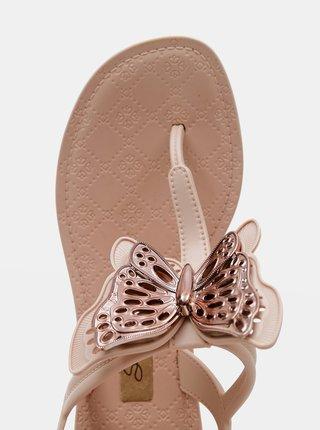 Růžové dámské sandály Grendha