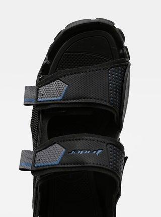 Černé pánské sandály Rider