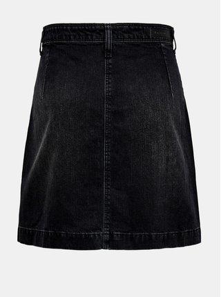 Černá džínová sukně Jacqueline de Yong