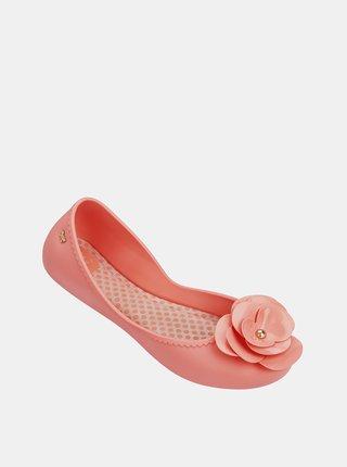 Ružové dámske baleríny Zaxy