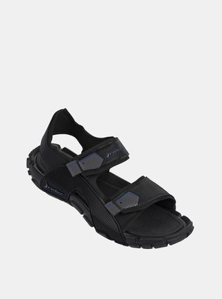 Čierne pánske sandále Rider