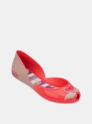 Ružové dievčenské baleríny Zaxy