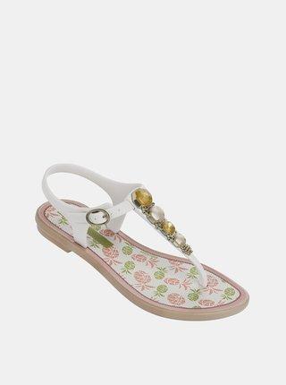 Biele dievčenské sandále Grendha