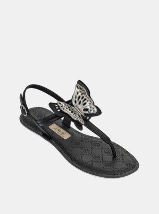 Čierne dámske sandále Grendha