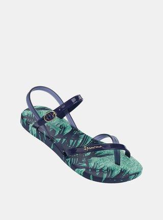 Modré dámske remienkové sandále Ipanema Sandal