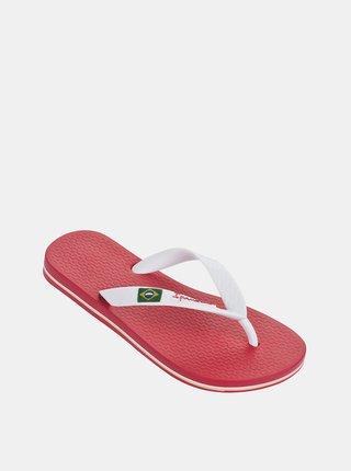 Ružovo-biele dievčenské žabky Ipanema