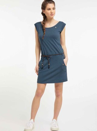 Tmavě modré šaty Ragwear Tag