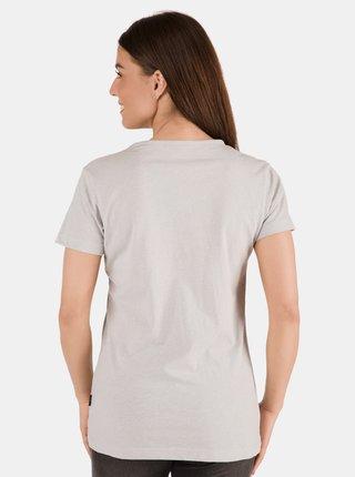 Světle šedé dámské tričko SAM 73