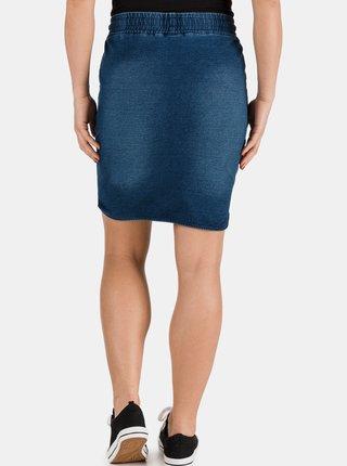 Tmavomodrá dámska rifľová sukňa SAM 73
