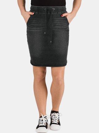 Černá dámská džínová sukně SAM 73