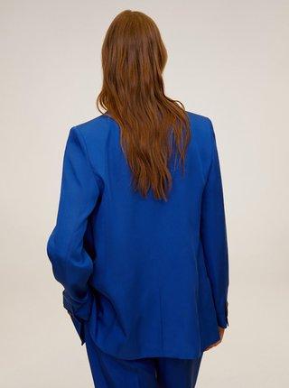 Tmavě modré sako Mango Monaco