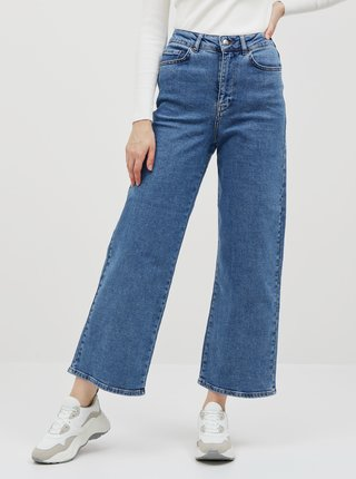 Modré bootcut rifle AWARE by VERO MODA Kathy