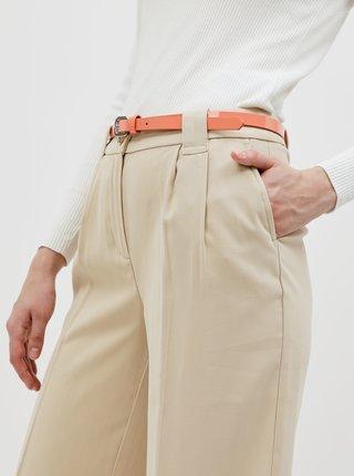 Béžové dámske nohavice Tom Tailor