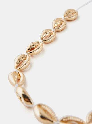 Náhrdeľník v zlatej farbe Pieces Nella