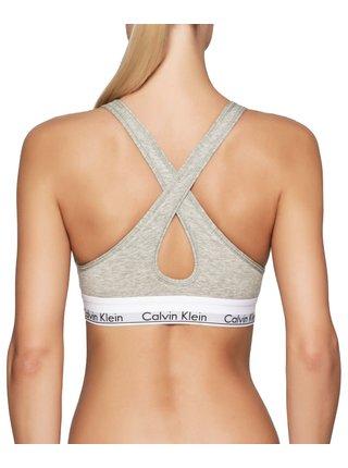 Calvin Klein sivá podprsenka Lift