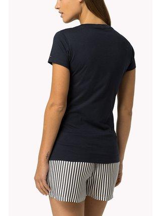 Tommy Hilfiger tmavě modré tričko Tee Print