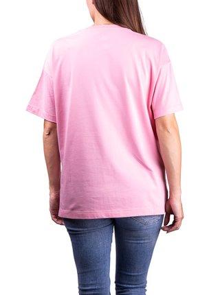 Converse ružové tričko Pink/Silver