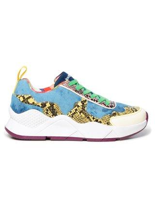 Desigual barevné tenisky na platformě Shoes Hydra Hybrid