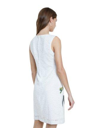 Desigual biele šaty Vest Eyre