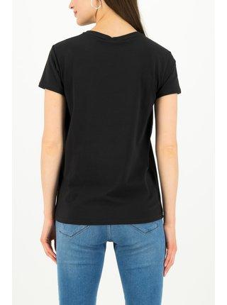 Blutsgeschwister černé tričko Tic Tac Tee Simply Black