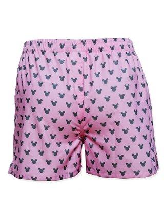 Slippsy růžové pánské trenýrky Minnie