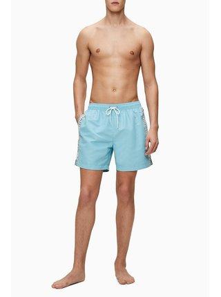 Calvin Klein modré pánske plavky Medium Drawsting