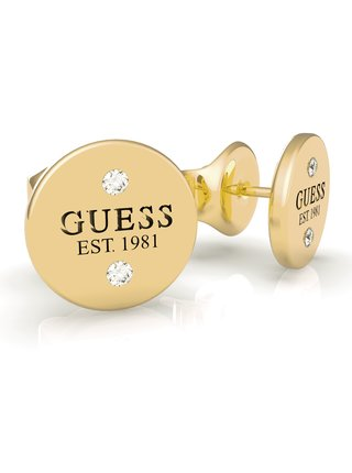 Guess zlaté náušnice Guess L.A.