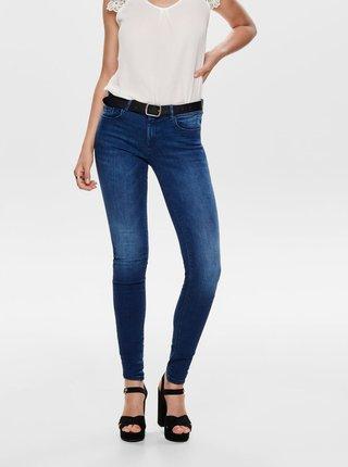 Modré shape up skinny fit džíny ONLY Carmen