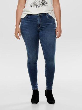 Modré skinny fit džíny ONLY CARMAKOMA Augusta