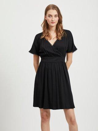 Čierne šaty VILA Suvita