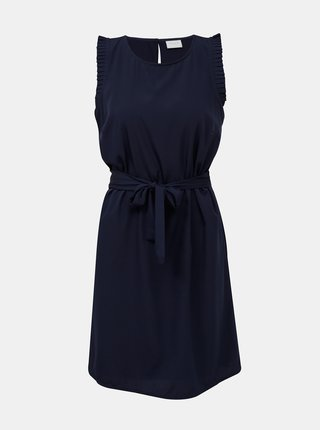 Tmavomodré šaty VILA Alinnia
