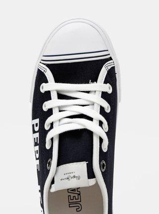 Tmavomodré dámske tenisky Pepe Jeans