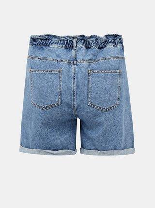 Modré džínové kraťasy ONLY CARMAKOMA Luba