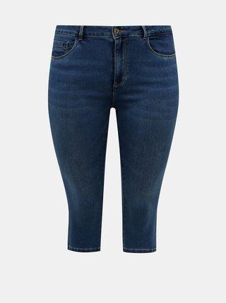 Tmavě modré 3/4 džíny ONLY CARMAKOMA Augusta