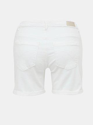 Biele rifľové kraťasy ONLY Paola
