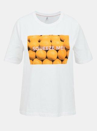 Biele tričko ONLY Ava