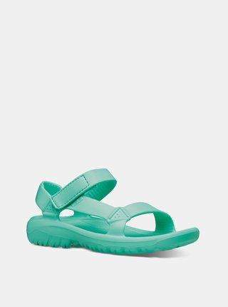 Tyrkysové dámske sandále Teva Hurricane