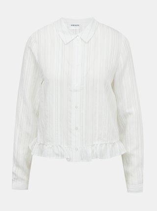 Biela košeľa AWARE by VERO MODA Kata