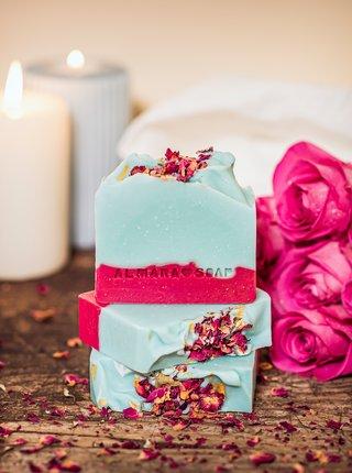 Mydlo Almara Soap Wild Rose