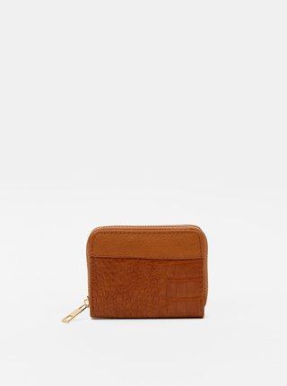 Hnedá peňaženka s krokodýlím vzorom Haily´s Olivia