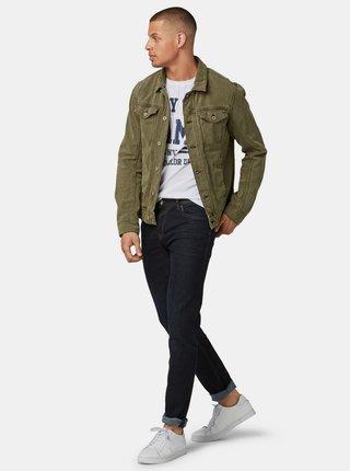 Tmavě modré pánské straight fit džíny Tom Tailor Denim