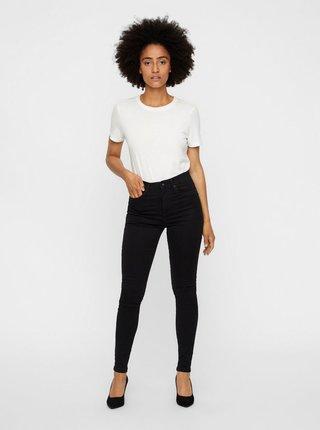 Černé skinny fit džíny VERO MODA Sophia