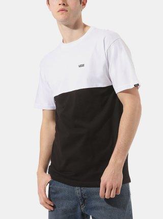 Bílo-černé pánské tričko VANS