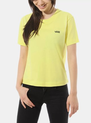 Žluté dámské tričko VANS