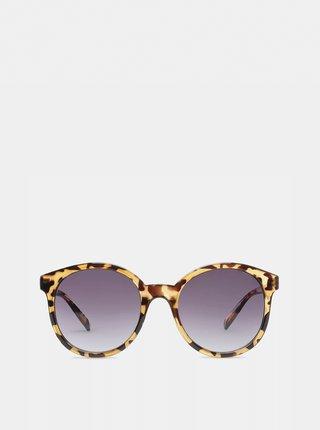 Hnědé dámské vzorované sluneční brýle VANS