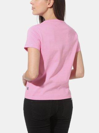 Růžové dámské tričko VANS Winky