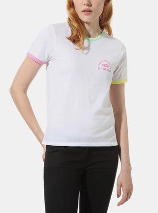 Biele dámske tričko VANS