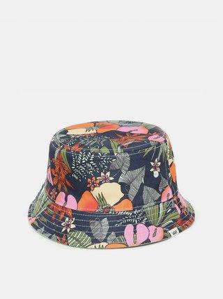 Zelený dámsky kvetovaný obojstranný klobúk VANS