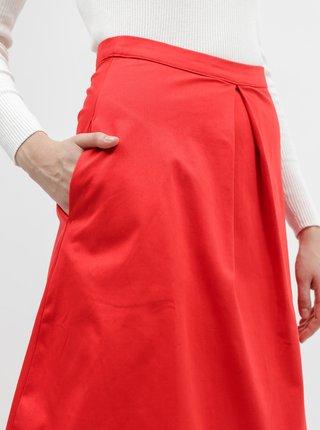 Červená sukňa ZOOT Kinga
