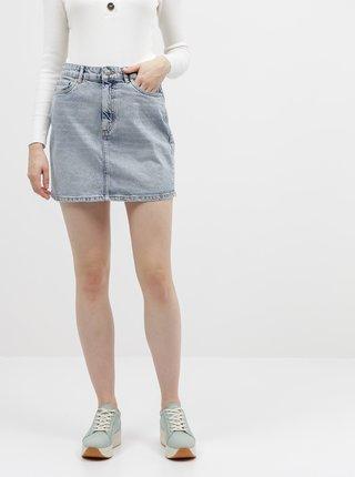 Světle modrá džínová sukně ONLY Rose